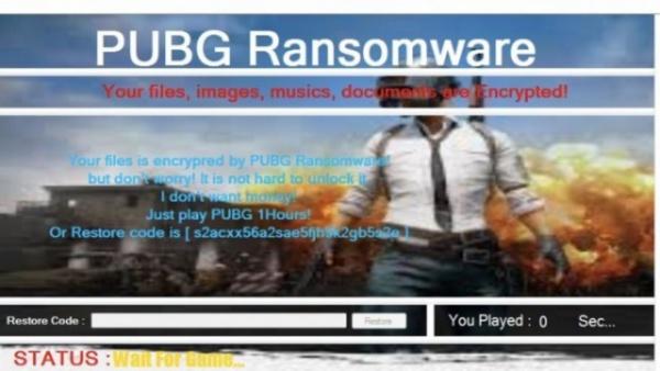 Интересное: Новый вирус-вымогатель шифрует файлы на компьютерах пользователей и требует поиграть в PUBG для разблокировки