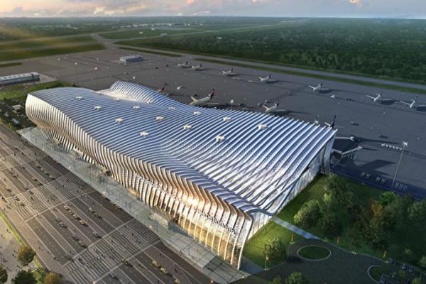 Новости: В Крыму начал работу новый терминал аэропорта «Симферополь»