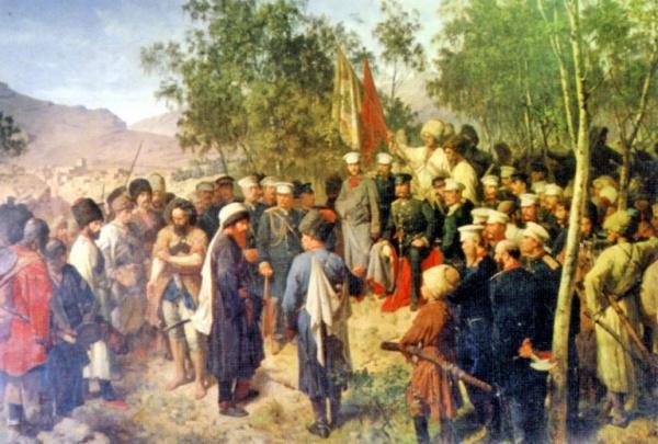 История: Покорение Черноморского побережья Кавказа