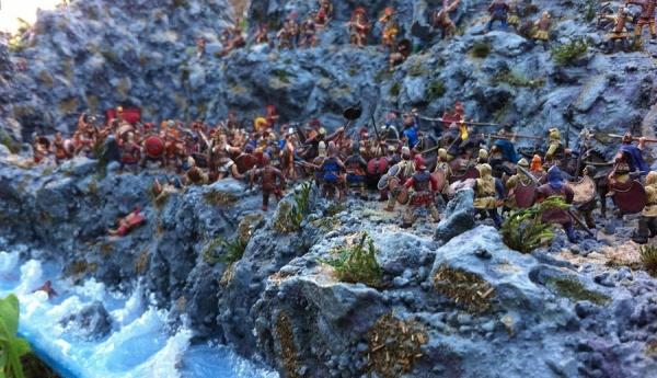 История: Битва при Фермопилах