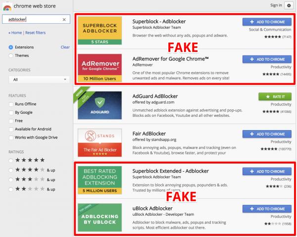 Технологии: Почти 20 миллионов пользователей Chrome стали участниками ботнета из фейковых блокировщиков рекламы