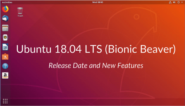 Технологии: Ubuntu 18.04 LTS