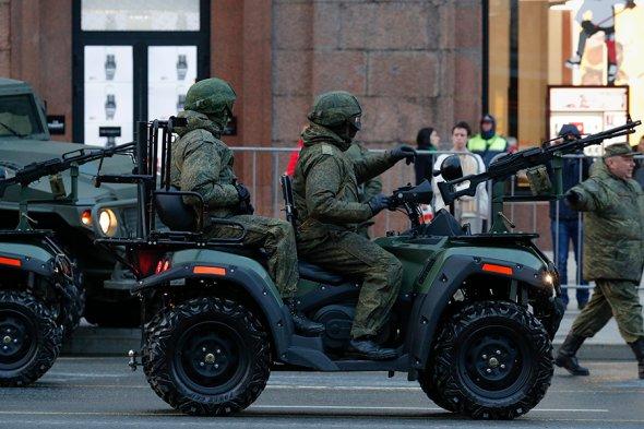 Интересное: Проезд военной техники на репетицию Парада Победы