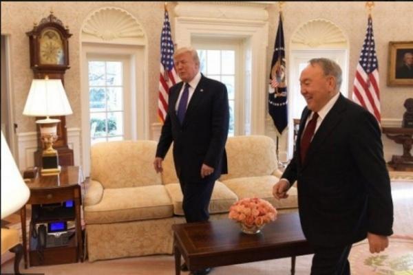 Политика: *У вас несчастные случаи на стройке были?* Трамп интересуется - есть ли в Казахстане конфликты
