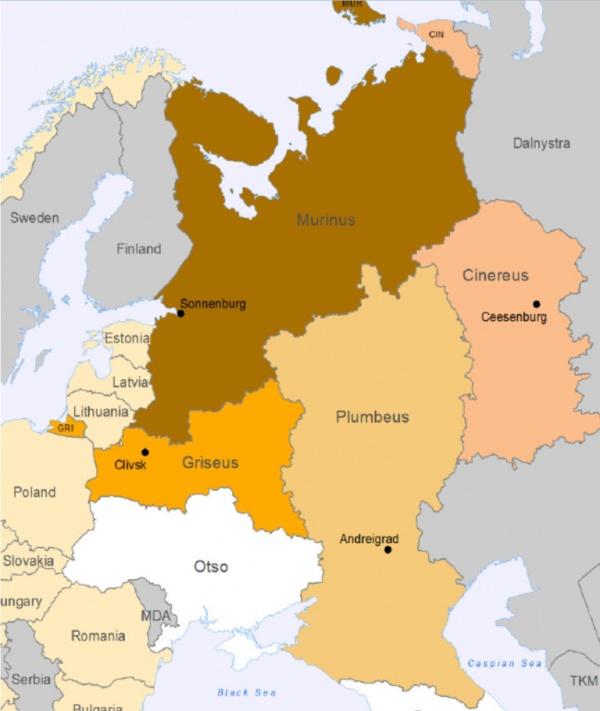 Прибалтика: Раздел России прибалтийским *ежом*