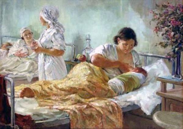 Картинки: Как кормили грудью на Руси