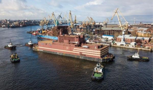 Новости: Первая в мире плавающая АЭС отправилась работать на Север