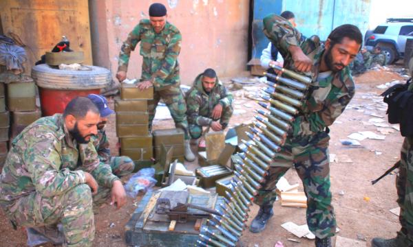 Война: Химки и бандерлоги: жаргон и байки российских военных в Сирии