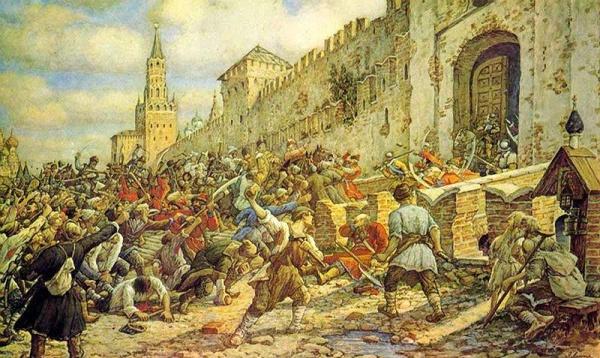 История: Соляной бунт