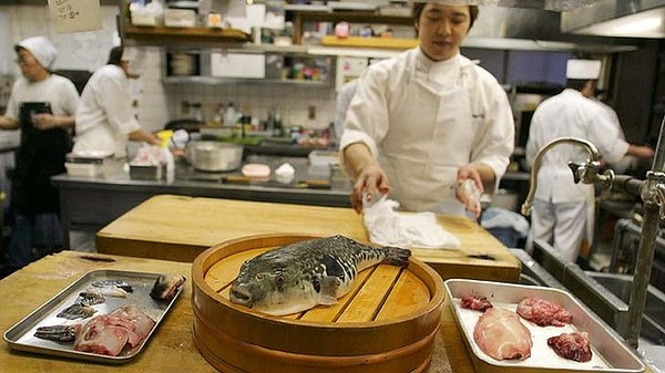 Интересное: Рыба фугу: великая и ужасная
