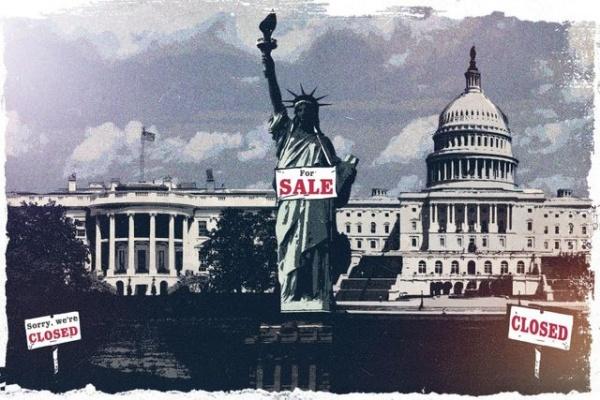 Политика: Страна-изгой, страна-лесопилка и порванная в клочья экономика – и всё это США