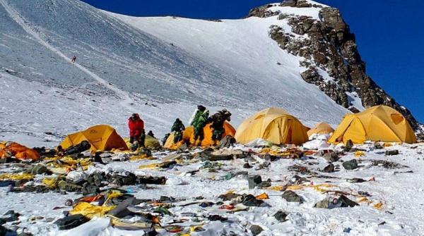 Интересное: Эверест - высокогорная помойка