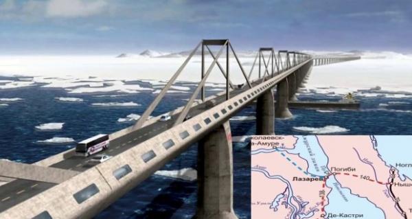 Новости: Путин поручил проработать вопрос о строительстве моста на Сахалин