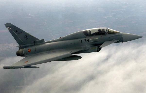 Блог djamix: Испанский истребитель по ошибке произвел пуск боевой ракеты в небе над Эстонией