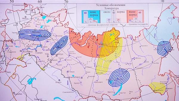 Природа: В Россию идёт похолодание