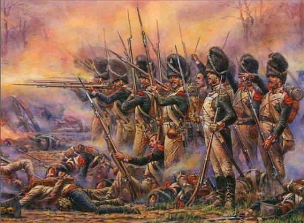 Война: Страшный бой линейной пехоты