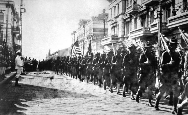 История: Россия напомнила о 100-летней годовщине американской интервенции