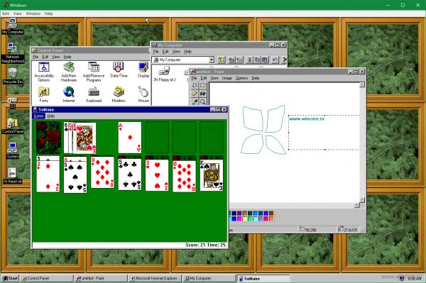 Блог djamix: Windows 95 — операционная система в приложении