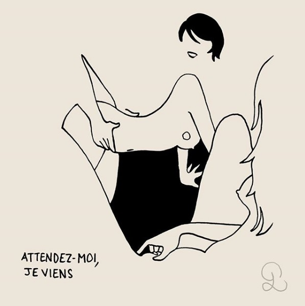 +18: Шаловливые наброски от французского художника