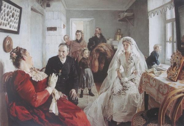 История: Какие невесты ценились на Руси