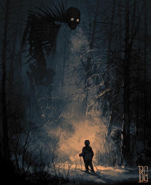 Картинки: Мрачноватое искусство