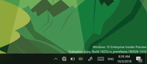 Технологии: Windows 10 Insider Preview Build 18252 (Fast и Skip Ahead)
