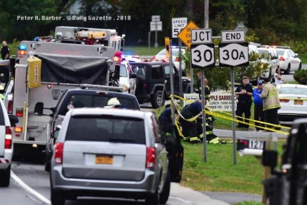 Происшествия: Двадцать человек погибли в ДТП со свадебным лимузином в Нью-Йорке