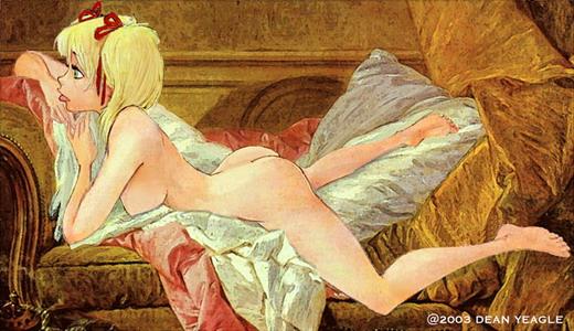 Картинки: Озорная сексуальность от Dean Yeagle