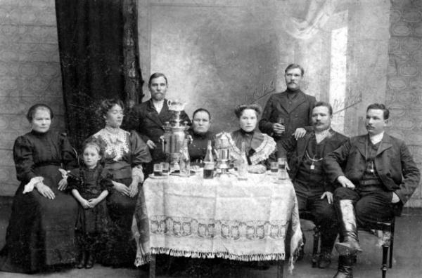 История: Чаепитие в Российской Империи