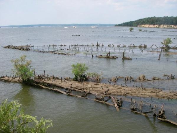 Интересное: Призрачный флот на реке Потомак