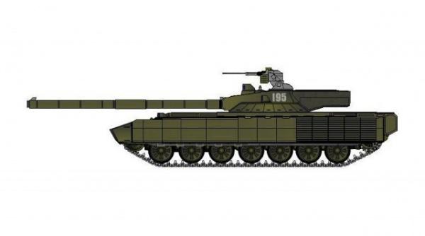 Интересное: Экспериментальные танки, ставшие основой для Т-14