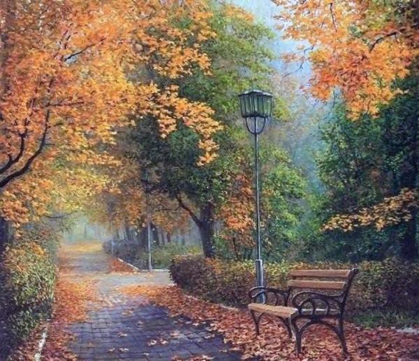 Картинки: Осень художника Ольги Дидык