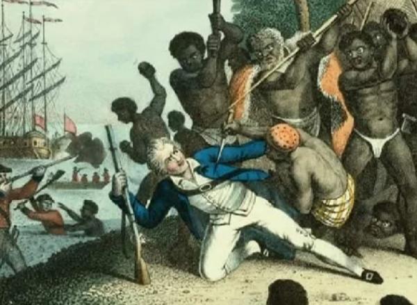История: За что аборигены съели Кука?