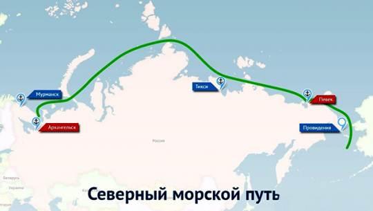 Экономика: Заграничные корабли смогут ходить по Севморпути только по уведомлению