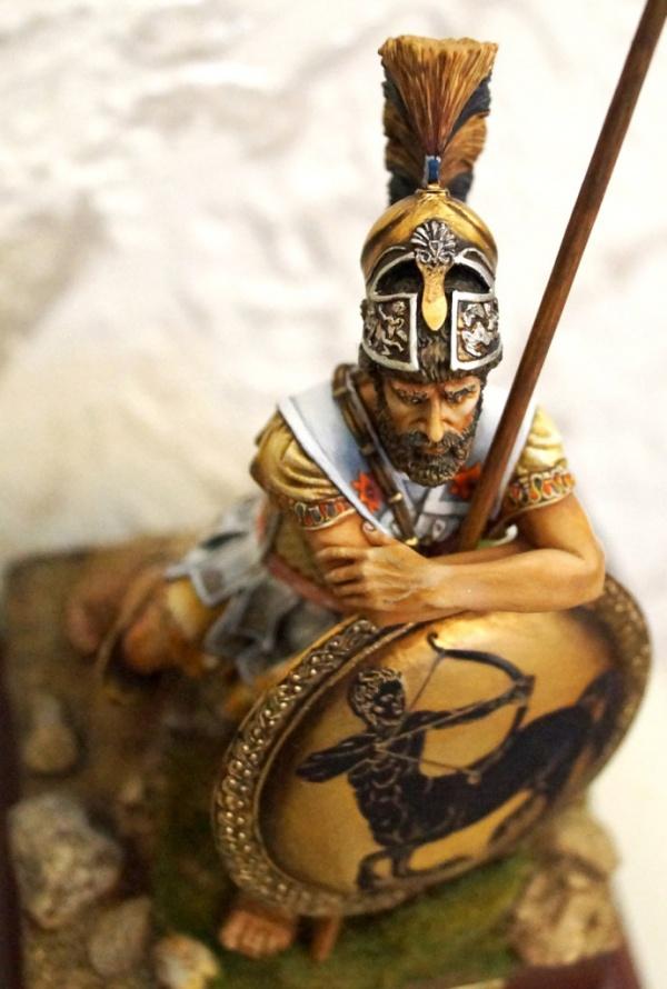 История: Торакс. Защита греческих воинов