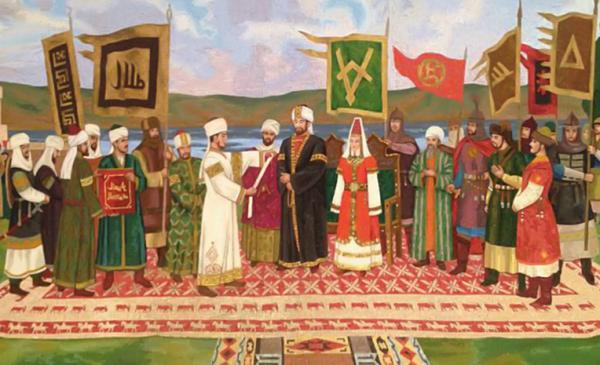 Интересное: Как в Поволжье появился ислам (довольно спорная статья)