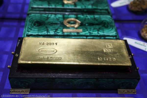 Интересное: Любопытные факты о золоте