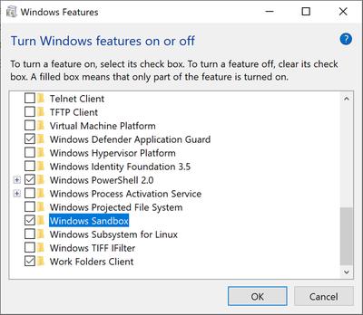 Технологии: Microsoft официально представила Windows Sandbox