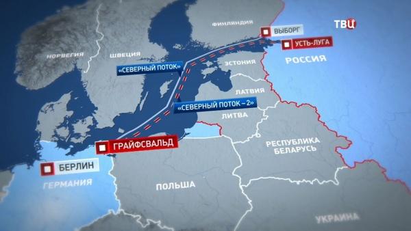 Экономика: В Финляндии началось строительство Северного потока