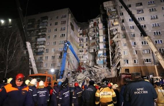 Происшествия: Семьи погибших при обрушении части жилого дома в Магнитогорске получат по одному миллиону рублей