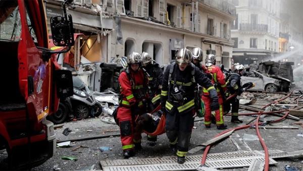 Происшествия: В Париже прогремел мощный взрыв