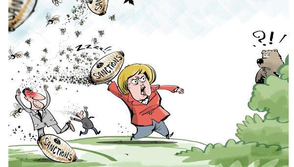 Экономика: Ущерб от антироссийских санкций составляет около 5 млрд - немецкая бизнес-группа