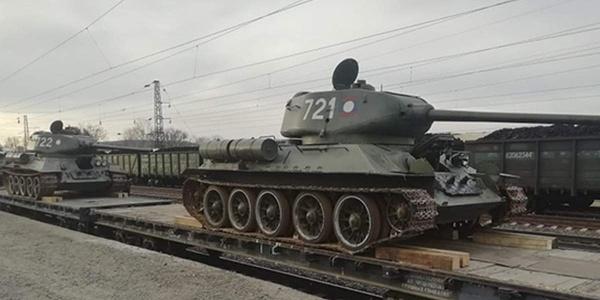 Интересное: *Советские* танки из Лаоса в России: что не так с недавно прибывшими Т-34?