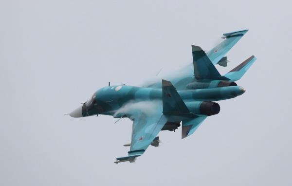 Происшествия: Два истребителя Су-34 столкнулись на Дальнем Востоке