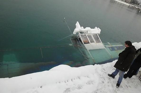 Интересное: Как ледяной ветер топит корабли