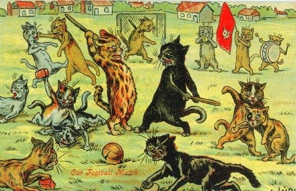 Картинки: Рисованные коты