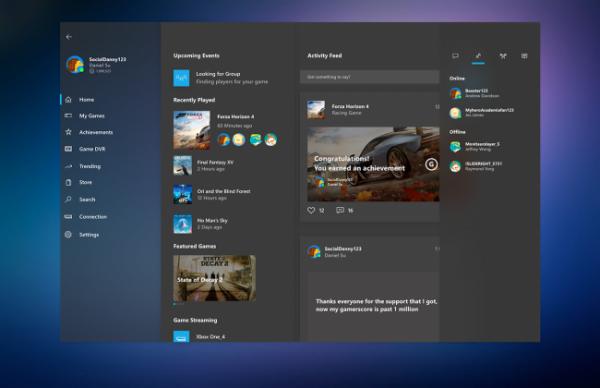 Технологии: В Windows 10 20H1 найдены первые элементы Game Core