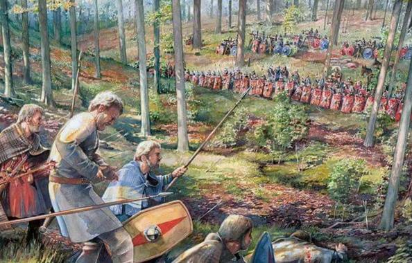 История: Как римляне отомстили германцам за Тевтобургский лес?
