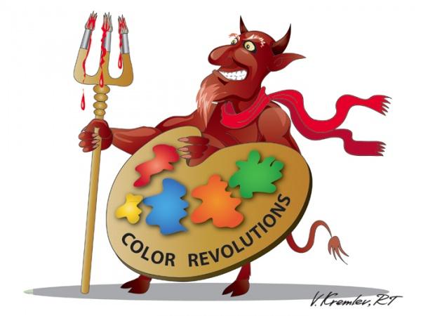 Либерасты: В России создано Агентство по противодействию цветным революциям