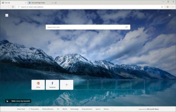 Технологии: В сеть утекла ранняя сборка Microsoft Edge на базе Chromium